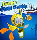 Play Tweety Ocean Cleaning